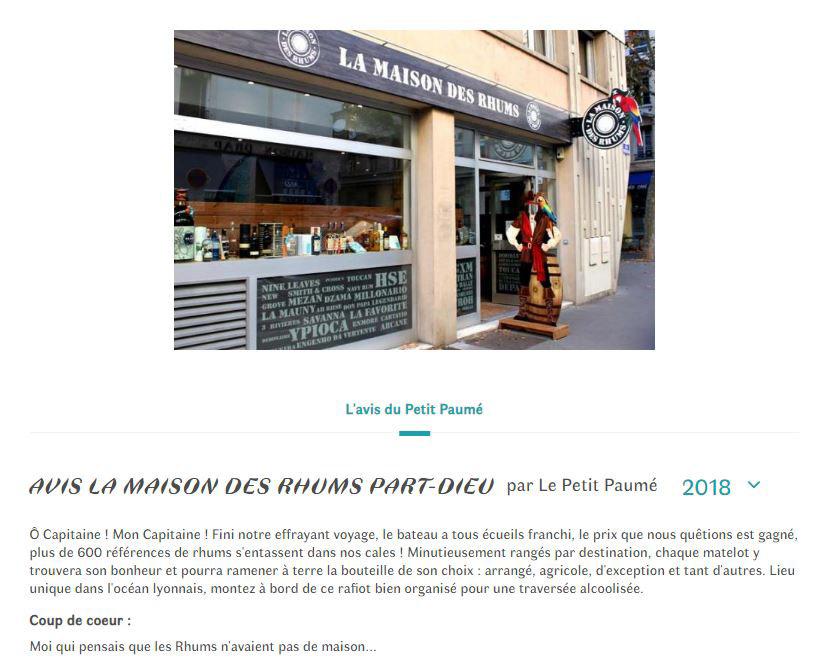Article Petit Paumé 2018